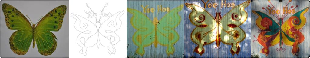 Folleterre Butterfly Progression