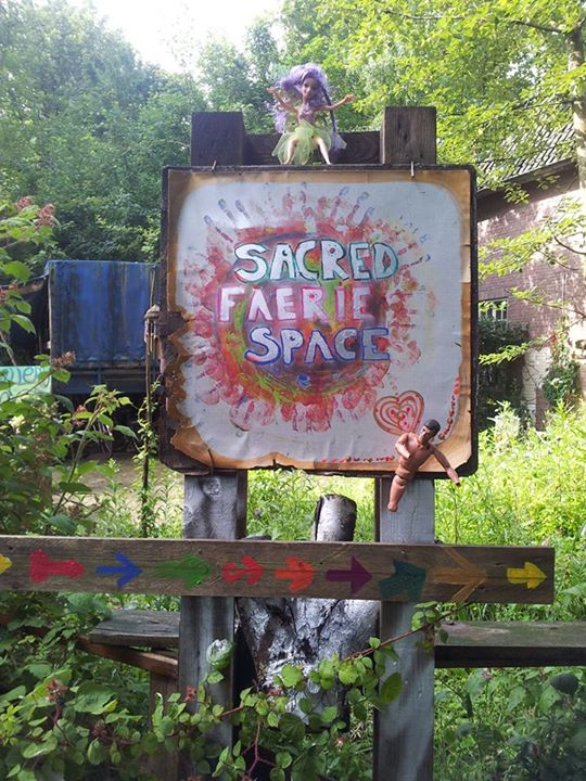 sacred faerie space