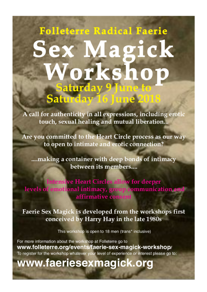 Faerie Sex Magick Workshop | Welcome to Folleterre, a ...