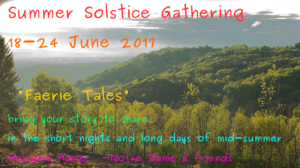 2017 Solstic Gathering Call