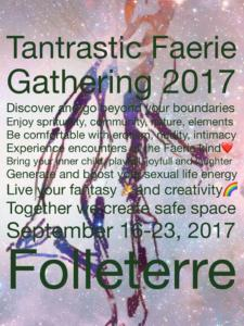 2017 Tantrastic Gathering Call