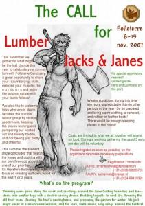 2007 Lumber Janes call