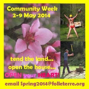 2014 Spring Community Week