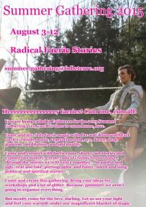 2015 Summer Gathering English