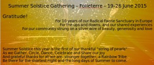 2015 Solstice Gathering